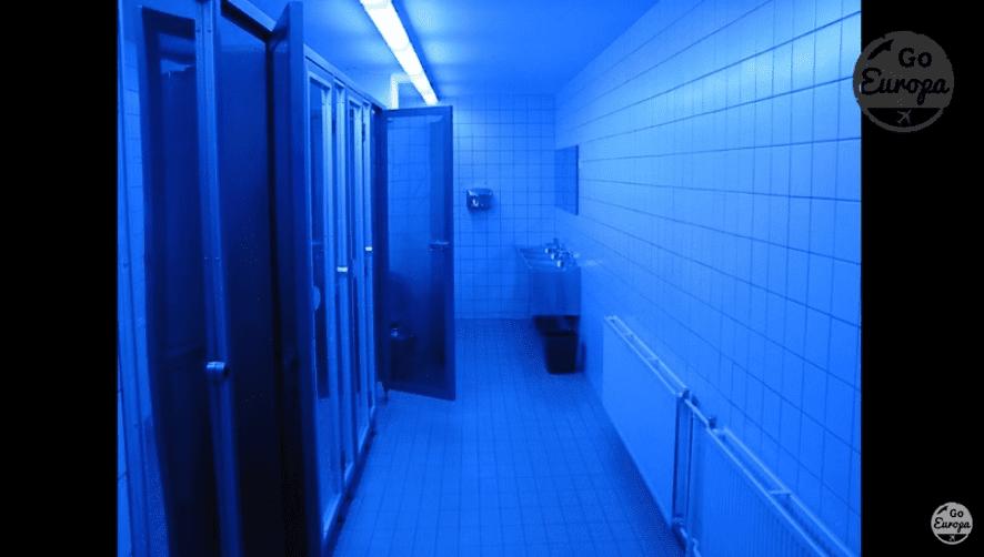 Banheiro no Starbucks